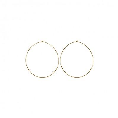 Hannah Earrings Shiny Gold
