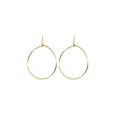 Madison Earrings Shiny Gold