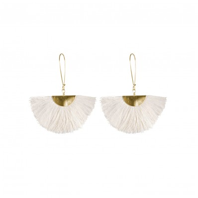 Lilly Earrings Ivory