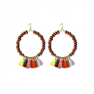 Anna Campbell Earrings Multi