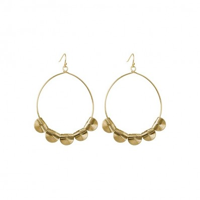 Jane Earrings Gold