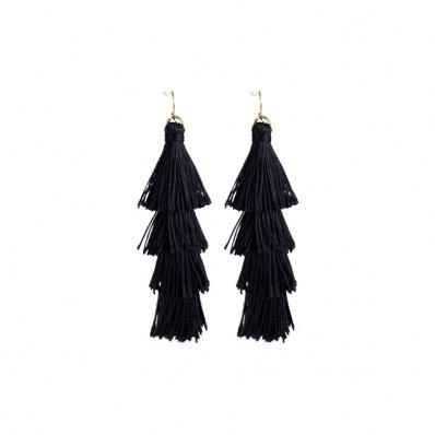Kensington Earrings Black