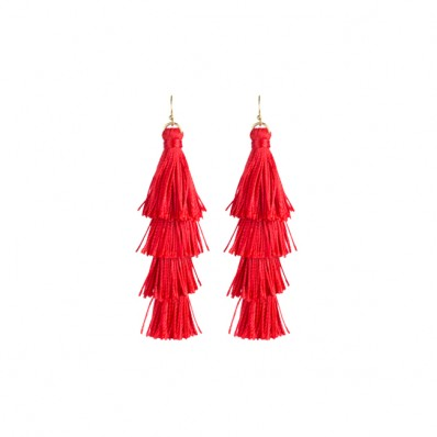 Kensington Earrings Red