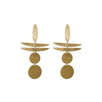 Rylan Earrings Gold