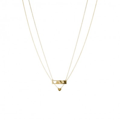 Valentina Necklace Gold