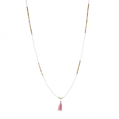 Avery Necklace Blush