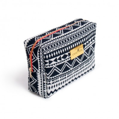 Square Pouch B&W