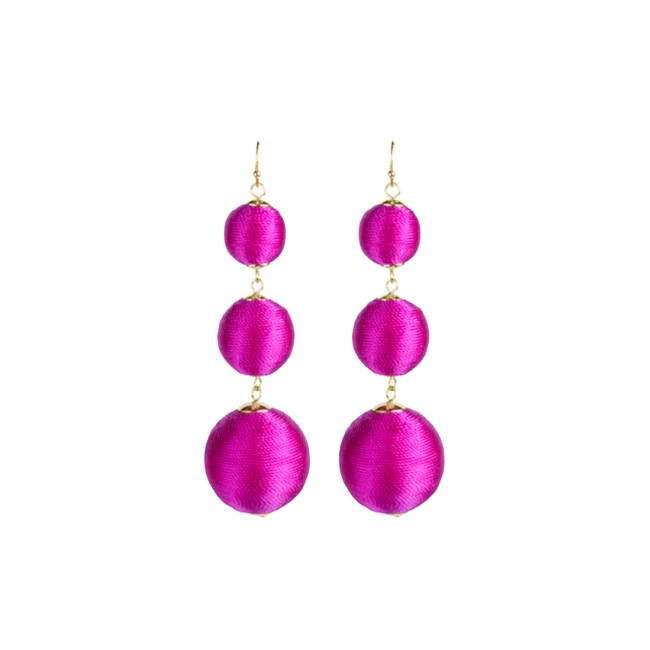 Bladen Earrings Hot Pink