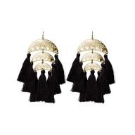Meredyth Earrings Black