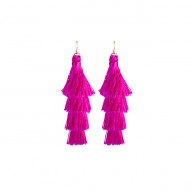 Kensington Earrings Hot Pink