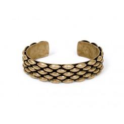 Bates Bracelet Brass Ox