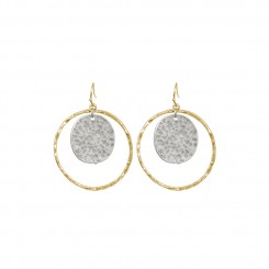 Anna Earrings Gold Silver