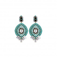 Annie Earrings Green