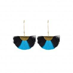 Lilly Earrings Blue/Black