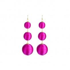 Bladen Earrings Hot Pink
