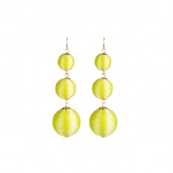 Bladen Earrings Neon Yellow
