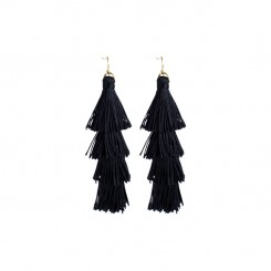 Kensington Earrings Black