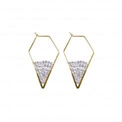 Shea Earrings Black Diamond