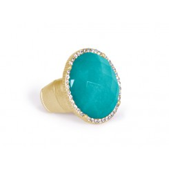 Ashley Ring Ocean Green