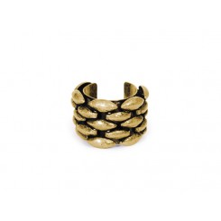 Janie Ring Brass Ox