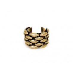 Janie Ring Brass Ox