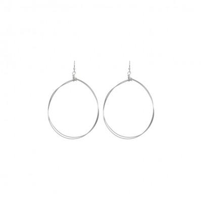 Madison Earrings Shiny Silver