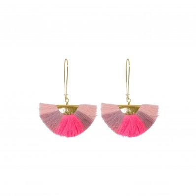 Lilly Earrings Pink Multi