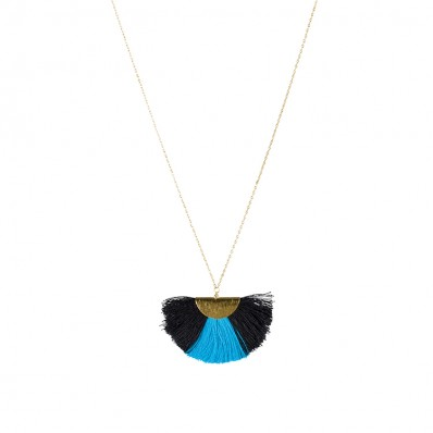 Alex Necklace Blue/Black