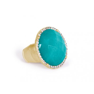 Ashley Ring Ocean Green